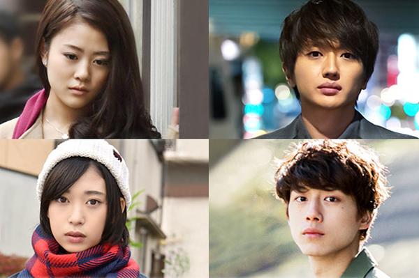 (左上から)高畑充希、西島隆弘、森川葵、坂口健太郎