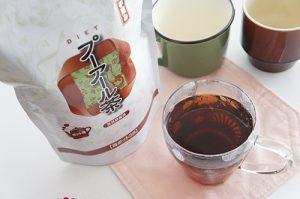 プーアール茶 副作用 成分