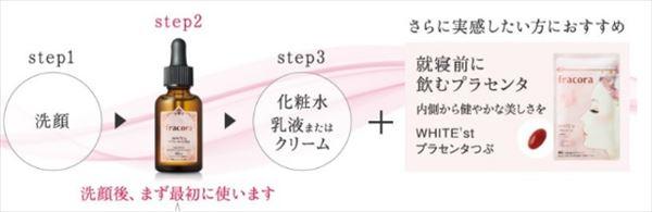 WHITE'stプラセンタエキス原液 効果 口コミ 使い方