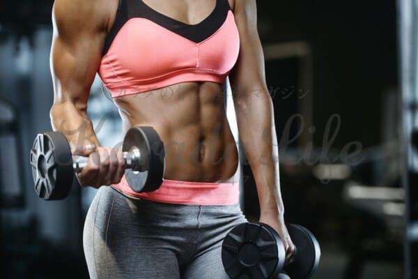 腹筋女子_aya並みに筋肉をつける方法